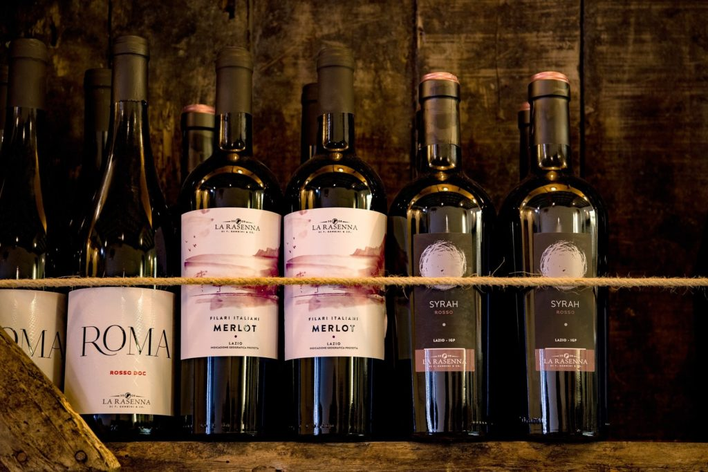 Różnorodne typy włoskich win