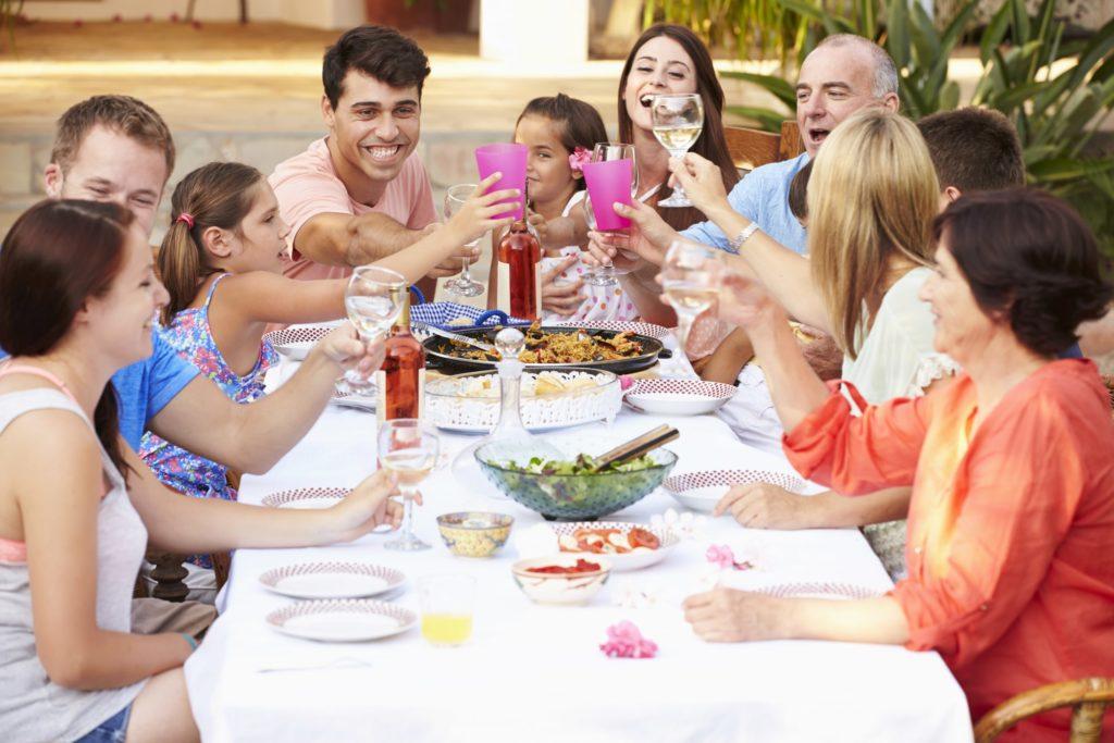 tradycyjna włoska kolacja