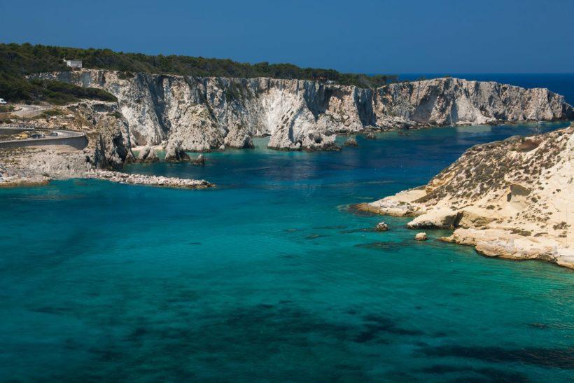 morze adriatyckie przy wyspach tremiti