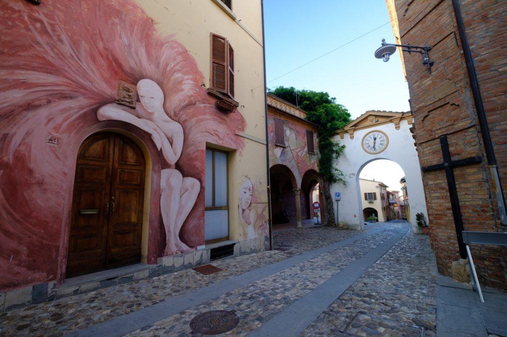 murale w dozza
